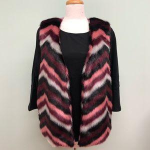 Michael Kors Faux Fur Vest (PM186)